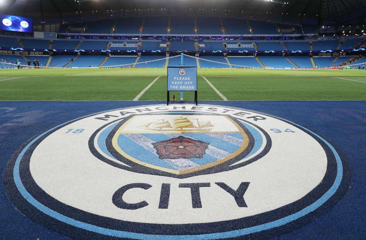 Das Bild täuscht: Manchester City darf weiter mitspielen in der Königsklasse des Fußballs. Foto: dpa/Martin Rickett