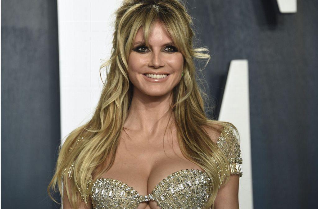 Heidi Klum sorgt auf Instagram immer wieder für Gesprächsstoff. Foto: AP/Evan Agostini