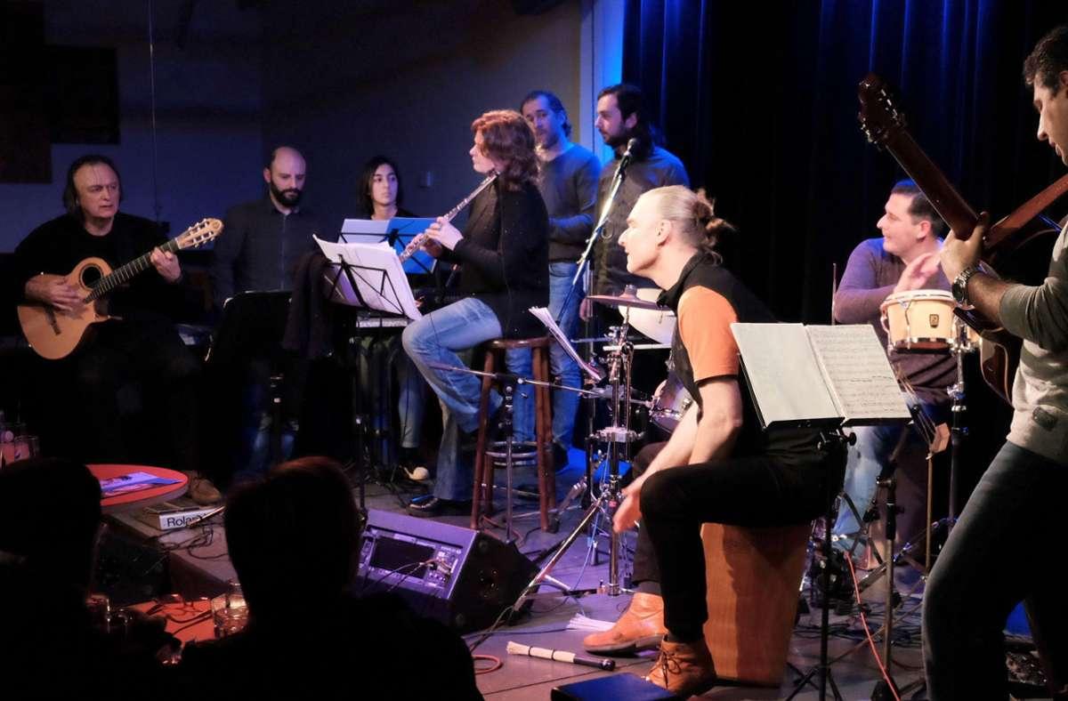 Wo das Ziryab-Ensemble auftritt, wird musikalisch aus dem Vollen geschöpft Foto: Forum/Stetter