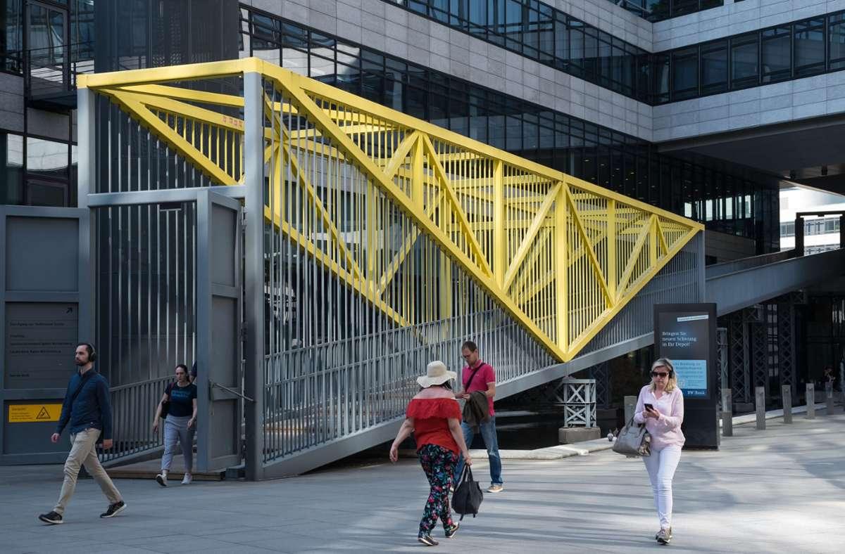 Kaum ein Kunstwerk hat so viel Publikum wie die Rampe hinterm Hauptbahnhof. Foto: Lichtgut/Max Kovalenko