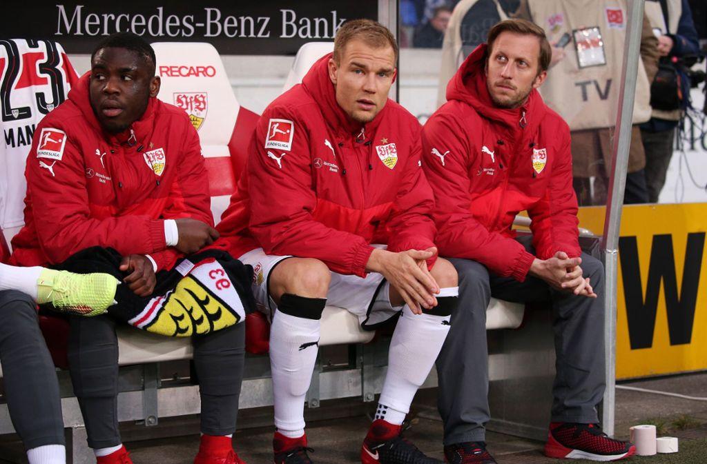 Für Holger Badstuber bleibt erstmal nur die Zuschauerrolle beim VfB Stuttgart. Foto: Pressefoto Baumann
