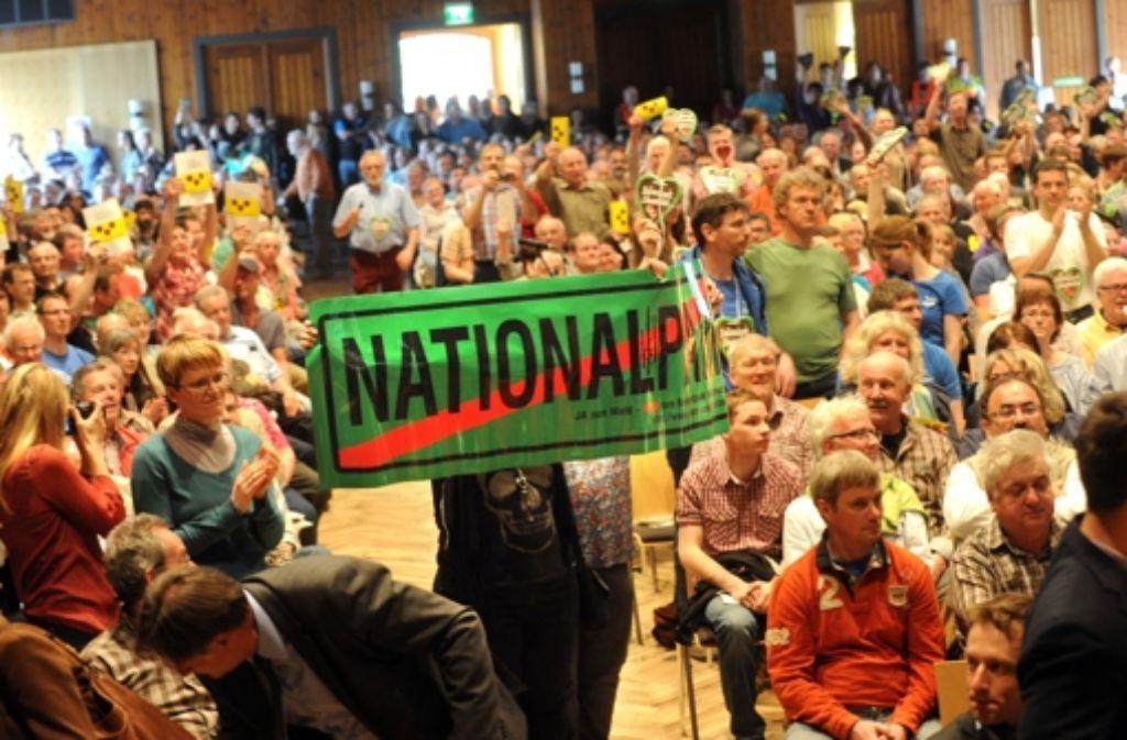Die Gegner haben im Nordschwarzwald massiv gegen die Pläne mobil gemacht. Foto: dpa