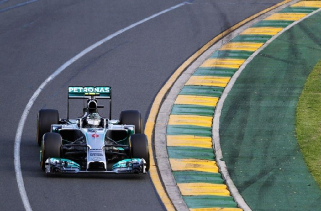 Mercedes-Pilot Nico Rosberg hat sich den Sieg im ersten Formel-1-Rennen der Saison gesichert. Foto: Getty Images AsiaPac