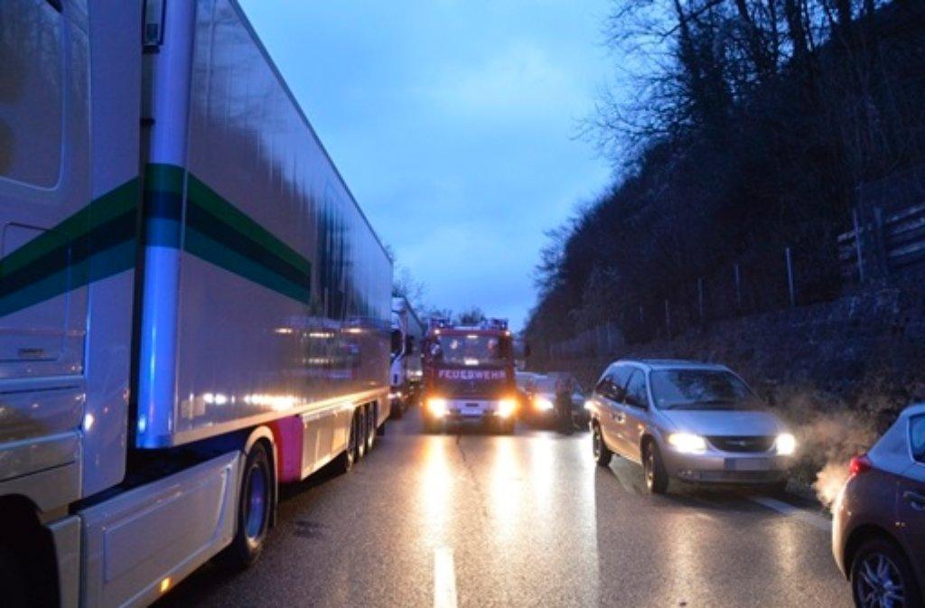 Verkehrsinfo A8 Richtung Stuttgart