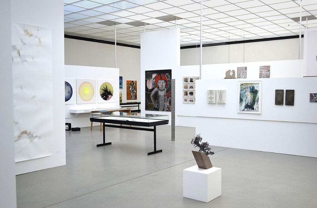 Ein Blick in die Ausstellung Foto: WKV