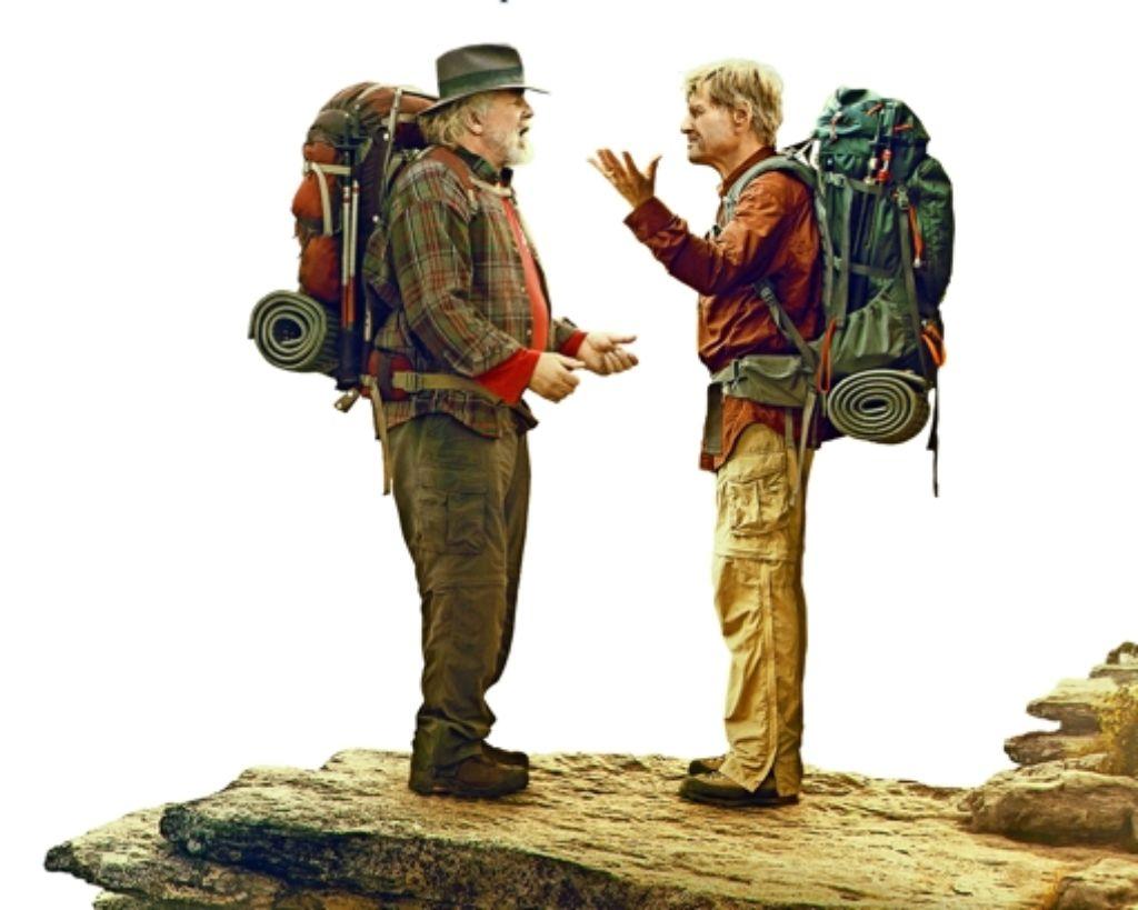 Nick Nolte (links) und Robert Redford wandern zu sich selbst. Foto: Verleih