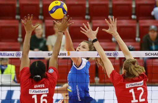 Toller Start für die Stuttgarter Volleyballerinnen