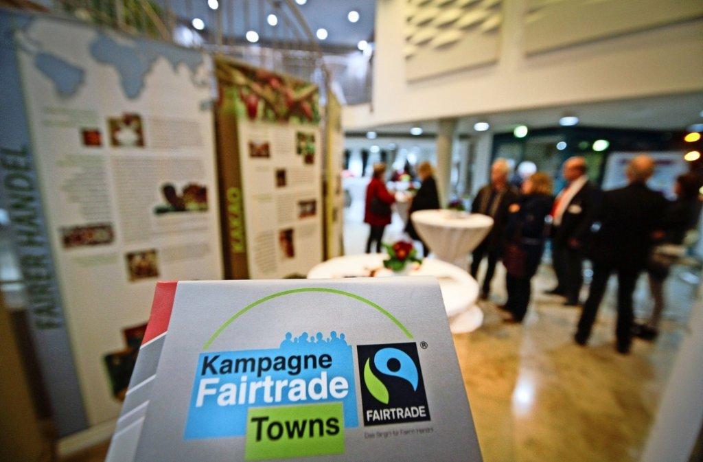 Die Stadt hat sich zum Ziel gesetzt,fair gehandelte Produkte  stärker  ins Bewusstsein der Bürger zu rücken. Foto: factum/Archiv