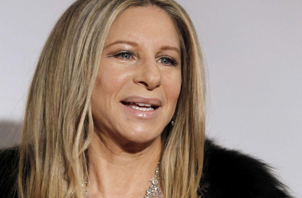 Die US-Schauspielerin Barbra Streisand Foto: dapd/Matt Sayles