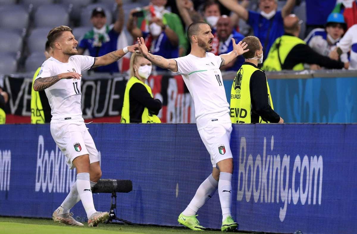 Die Italiener gehen als leichter Favorit ins EM-Halbfinale gegen Spanien. Foto: imago/Laci Perenyi