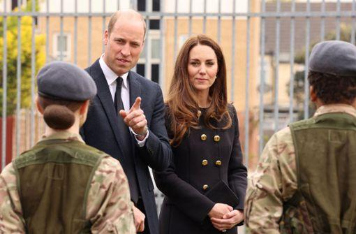 Ihr erster öffentlicher Termin ist zu Prinz Philips Ehren