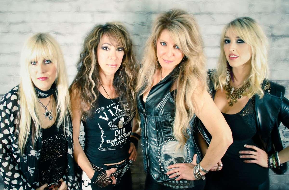 Ruppige Damen: die Metalband Vixen Foto:
