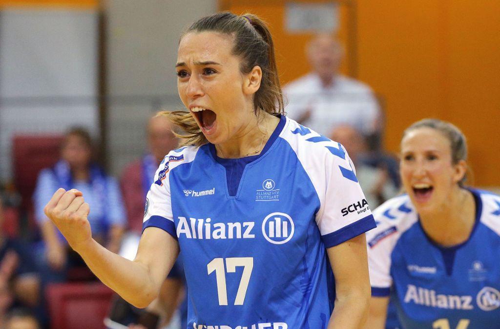 Allianz MTV Stuttgart sucht eine zweite Zuspielerin, um die Türkin Cansu Aydinogullari entlasten zu können. Foto: Baumann