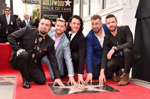 Justin Timberlake und Co. auf Walk of Fame umjubelt