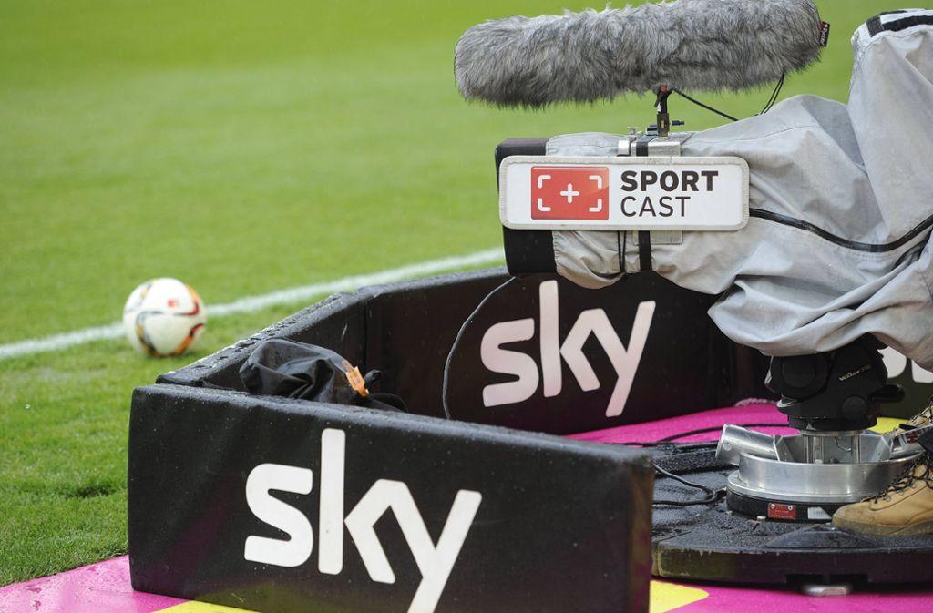 Der VfB Stuttgart wird unter anderem im Free-TV zu sehen sein. Foto: imago images/Frank Hoermann