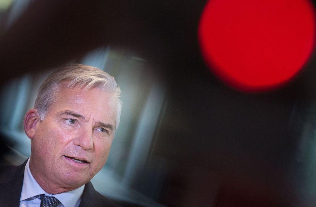 Vize-Ministerpräsident Thomas Strobl würde dem Bund auch die Durchführung aller Abschiebungen übertragen. Foto: dpa