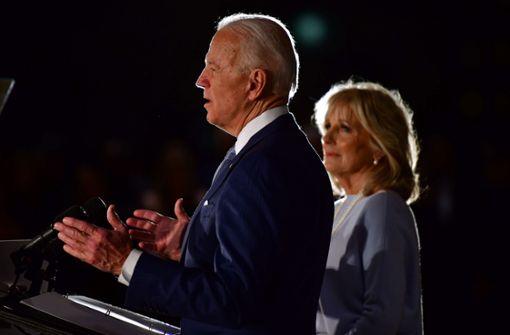 Schwung für Joe Biden - vor allem im umkämpften Michigan