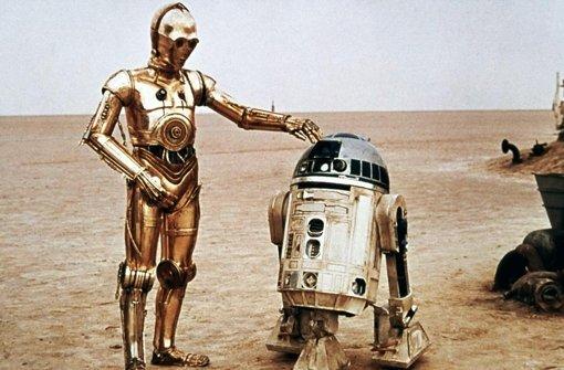 Wer auch immer C-3PO aus Starwars das Sprechen beigebracht hat: er war recht erfolgreich. Der Roboter plappert seither ohne Unterlass – bei richtiger Betonung. Foto: Verleih