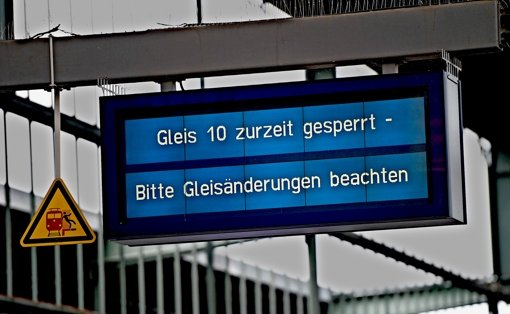 Salamitaktik im Hauptbahnhof