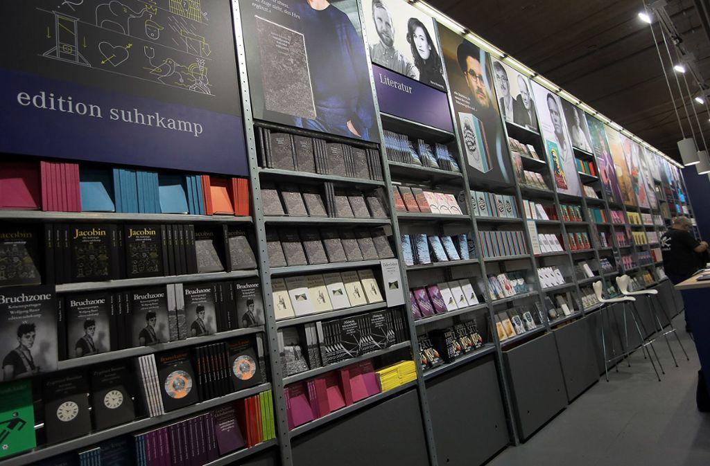 Die Frankfurter Buchmesse sieht sich als Forum der Meinungsfreiheit – und warnt vor Verrohung. Foto: Getty