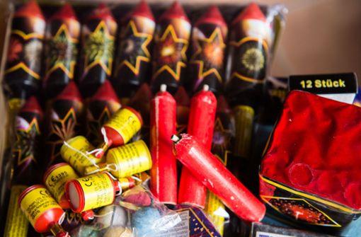 Rekordmenge an Raketen und Böllern importiert
