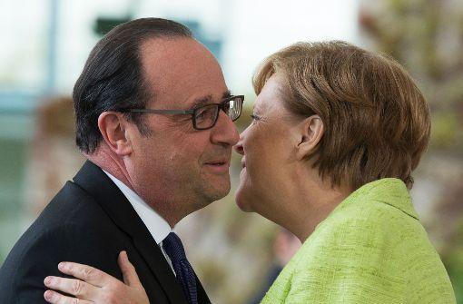 Berlin und Brüssel setzen auf rasche Reformen Macrons