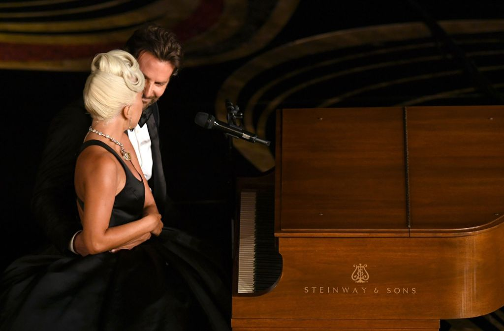 Lady Gaga und Bradley Cooper sorgen für Gänsehaut. Foto: GETTY IMAGES NORTH AMERICA