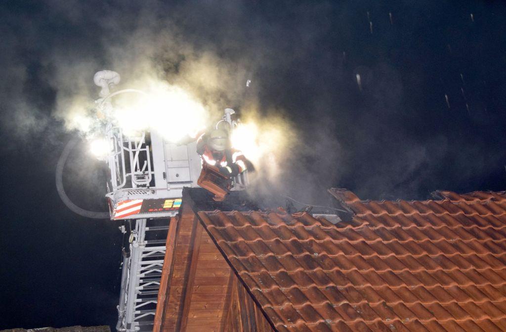 Die Polizei geht von einem Gesamtschaden von rund 300 000 Euro aus. Foto: dpa