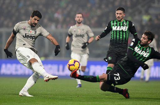 Khedira fehlt Juventus wegen Herzproblemen