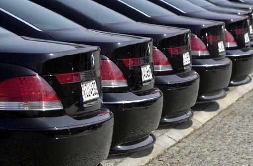 Täter-Trio  ist  fokussiert auf Marke BMW