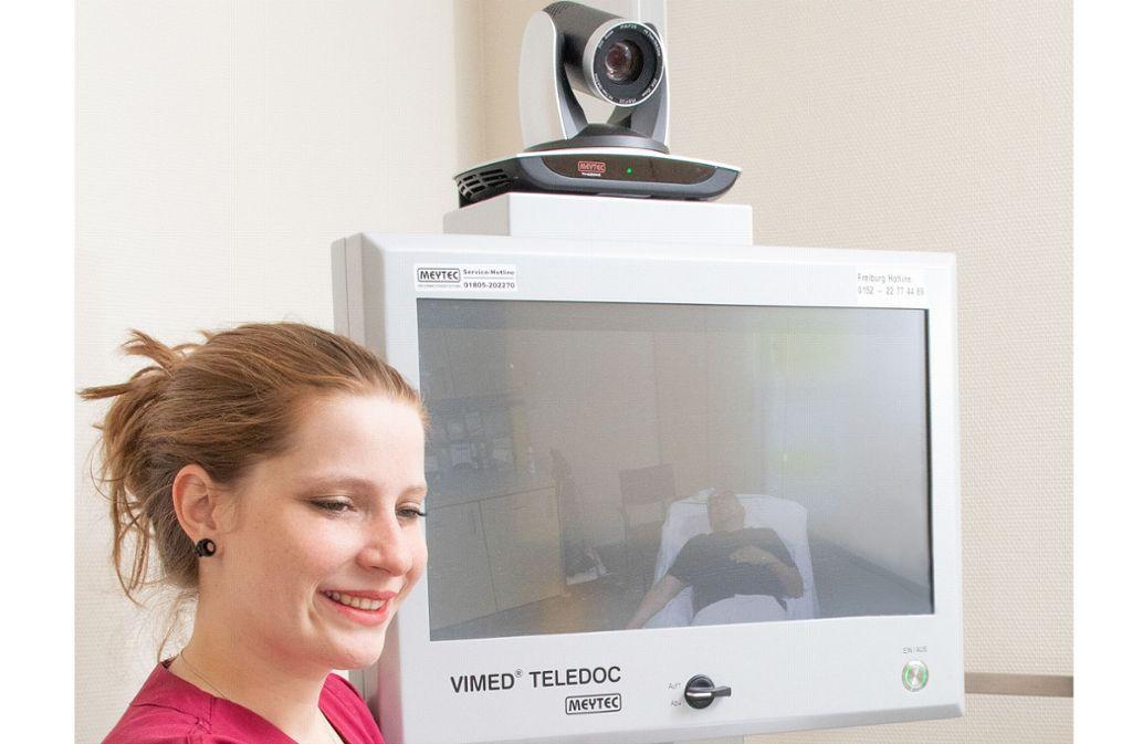 Über den Teledoc  kann ein Neurologe aus Freiburg  hinzugezogen werden. Foto: Max Radloff