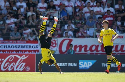 Dortmund vereitelt historisches VfB-Double