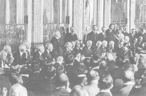 Was  Versailles mit dem Iran verbindet