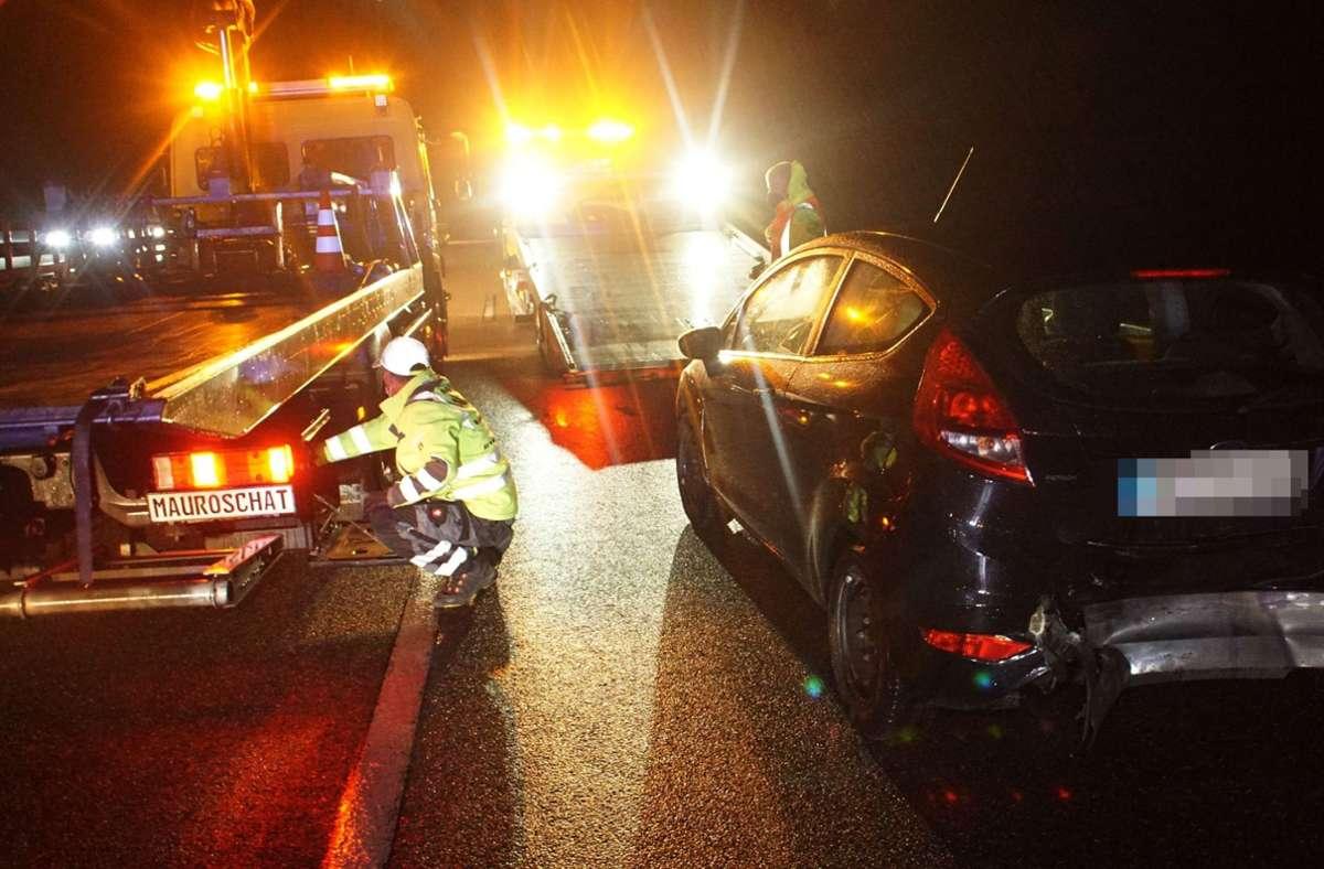 Bei dem Unfall wurden vier Personen verletzt. Foto: SDMG/Gress