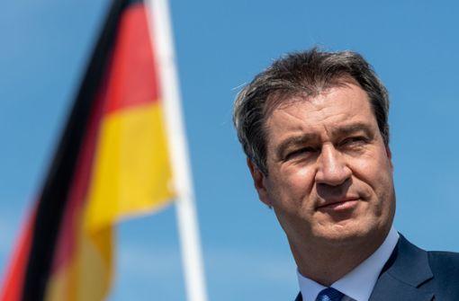 Markus  Söder dringt auf konsequenten Bundes-Lockdown