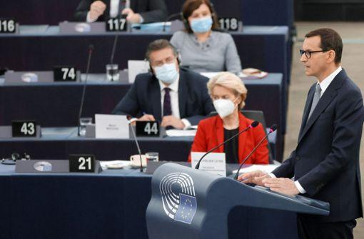 Polen wähnt sich im Kalten Krieg mit der EU