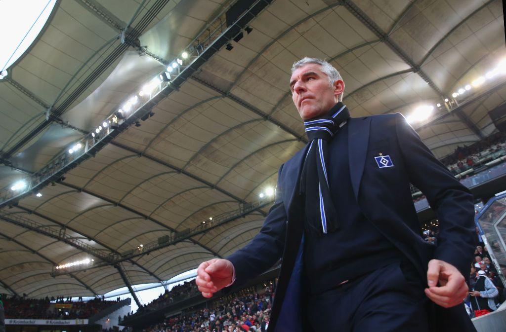 Mirko Slomka übernimmt beim Karlsruher SC. Foto: Bongarts