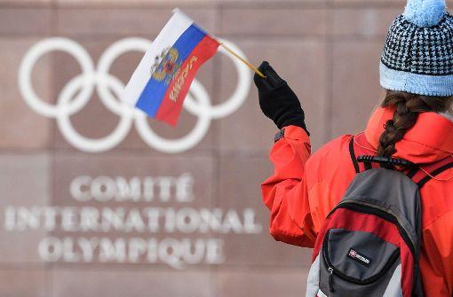 Putin will Russlands Sportlern Start nicht verbieten