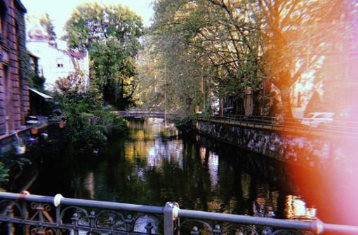 Esslingen erinnert manchmal an ferne Länder und Städte, wie zum Beispiel an Venedig oder Amsterdam.