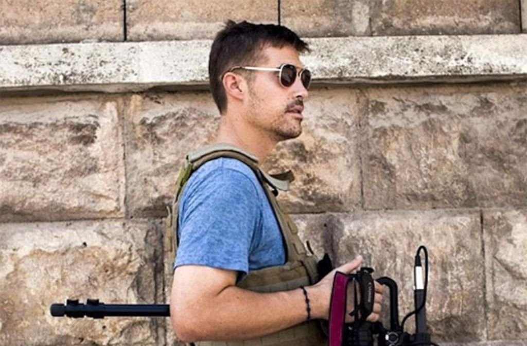 Der US-Fotograf James Foley (Foto) ist von einem Kämpfer der Terrormiliz Islamischer Staat enthauptet worden. Nun soll die Identität des Mörders bekannt sein. Er hört auf den Spitznamen Dschihadi John. Foto: dpa