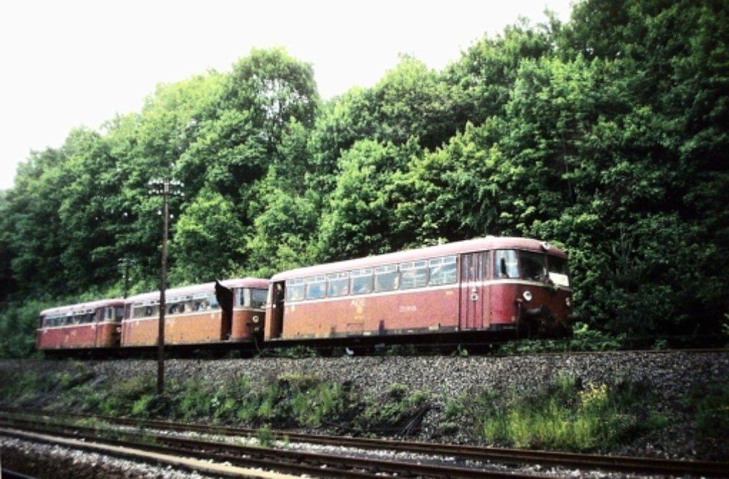 Bis 1983 ist die Schwarzwaldbahn zwischen Weil der Stadt und Calw gefahren. Foto: nh