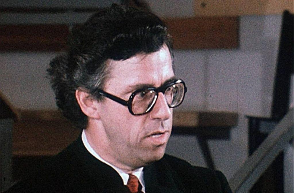 Helmuth Froschauer bei den Osterfestspielen 1979 in Salzburg Foto: Wiener Philharmoniker