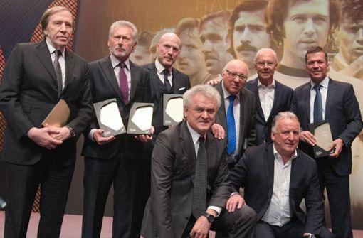 Viele Fußball-Legenden bei der Gala in Dortmund
