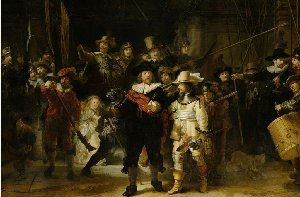 "Chaotischer Haufen: ""Die Nachtwache"" von Rembrandt van Rijn, 1642 Foto: Rijksmuseum"