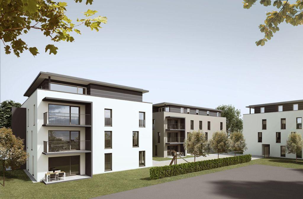 In dieser Art sind die Mehrfamilienhäuser in Weilheim geplant. Foto: Birkenmaier