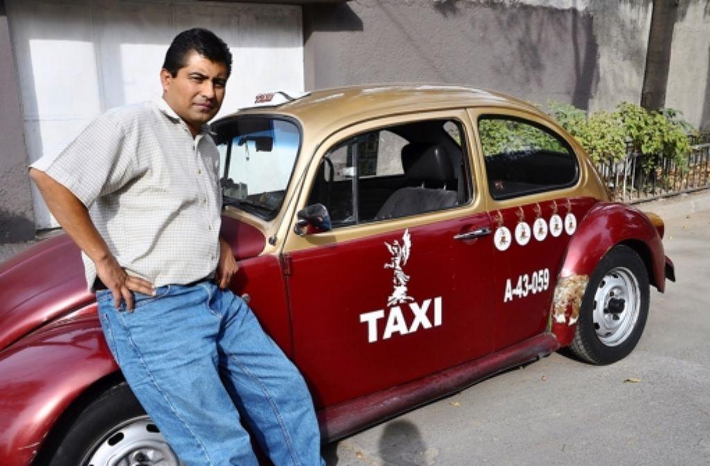 Luis García trauert: Ende Dezember muss er zu seinem Taxi Adios sagen. Foto: Ehringfeld