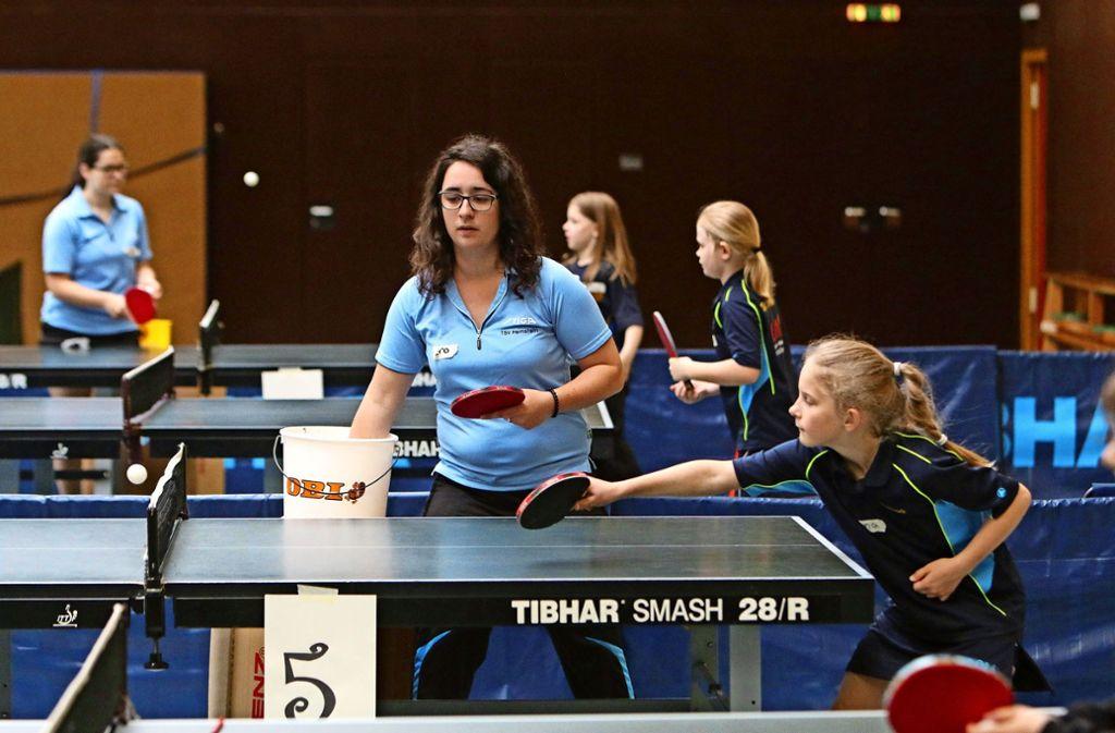 Viele Vereine – wie der TSV Heimsheim, hier beim Tischtennistag – betreiben intensive Jugendarbeit. Das möchte die Stadt in besonderem Maße fördern. Foto: Andreas  Gorr