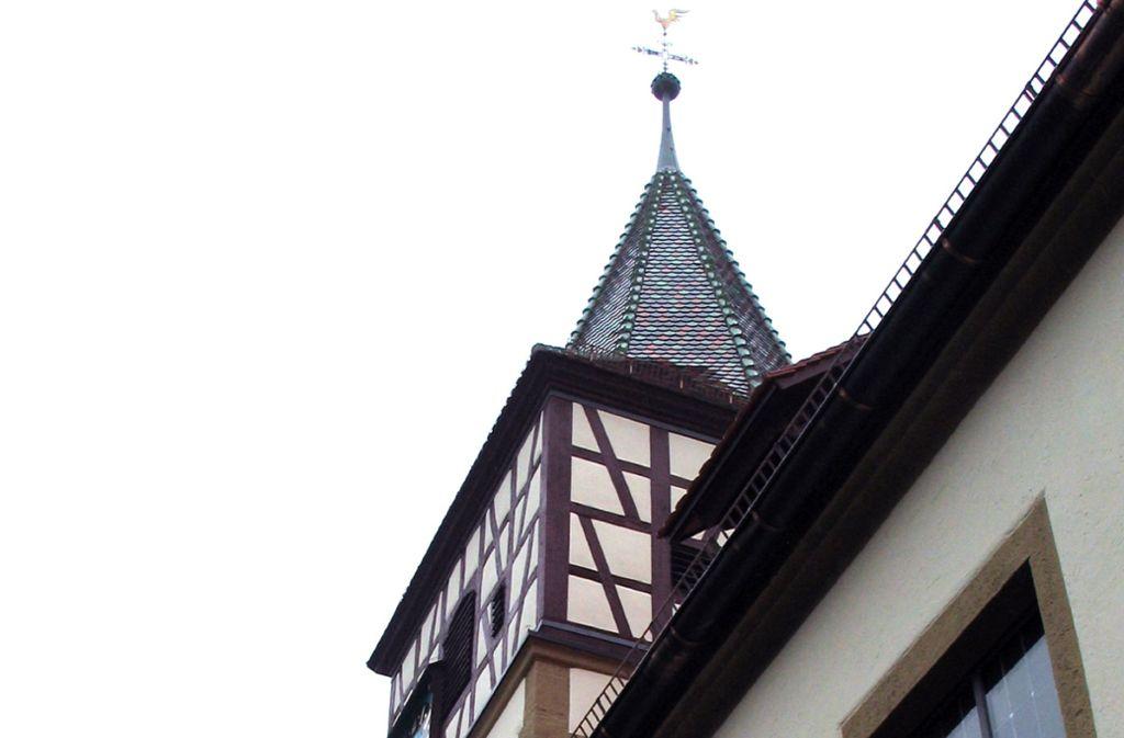 Die Oswaldkirche an der Ditzinger Straße ist der Mittelpunkt im Flecken. Foto: