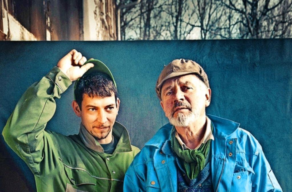 Philipp und Konrad Kienle wollen ihren Hof retten. Foto: Teichoskop