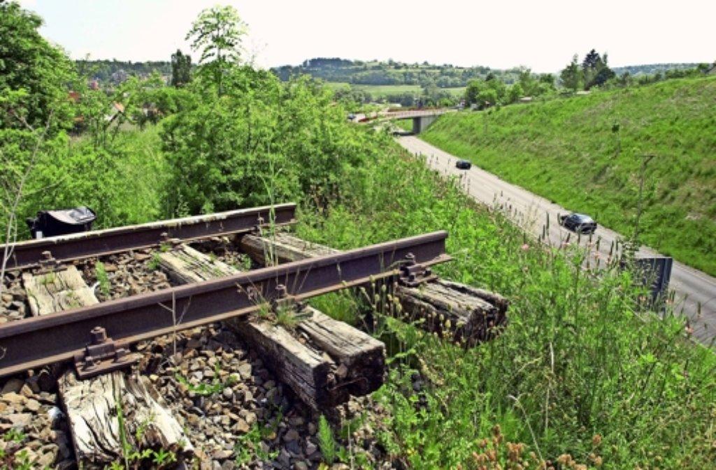 Hier bei Weil der Stadt endet  das alte Gleis der Schwarzwaldbahn. Foto: factum/ Archiv